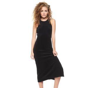 Juicy couture velour midi dress